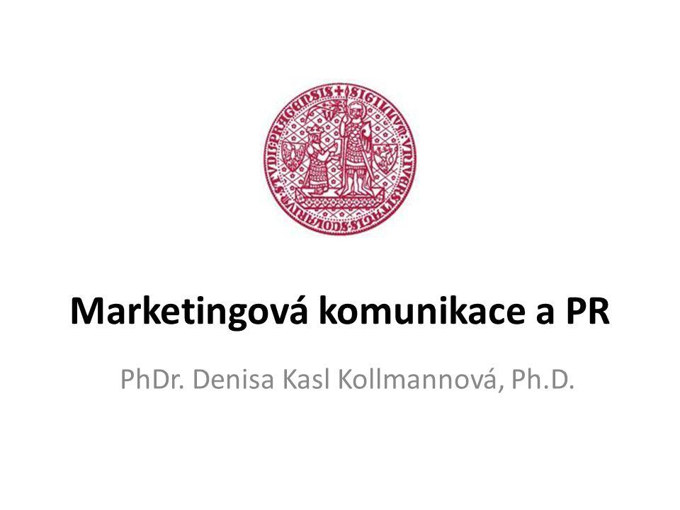 Marketingová komunikace a PR