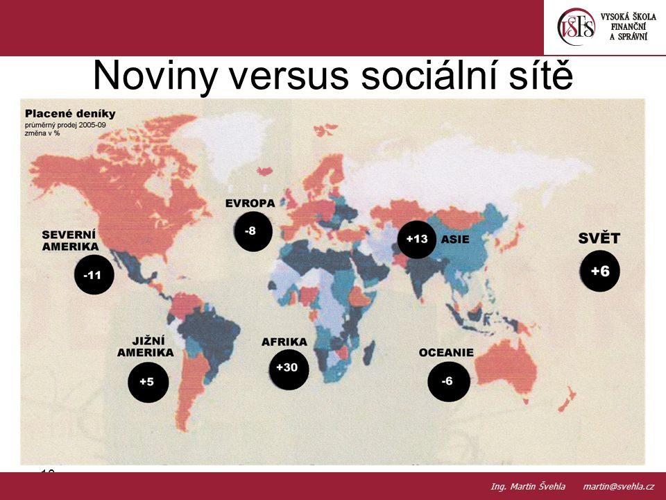 Noviny versus sociální sítě