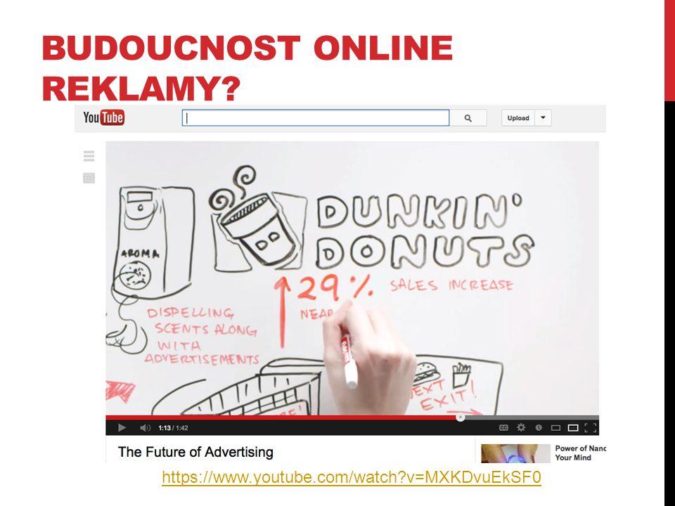 Budoucnost online reklamy