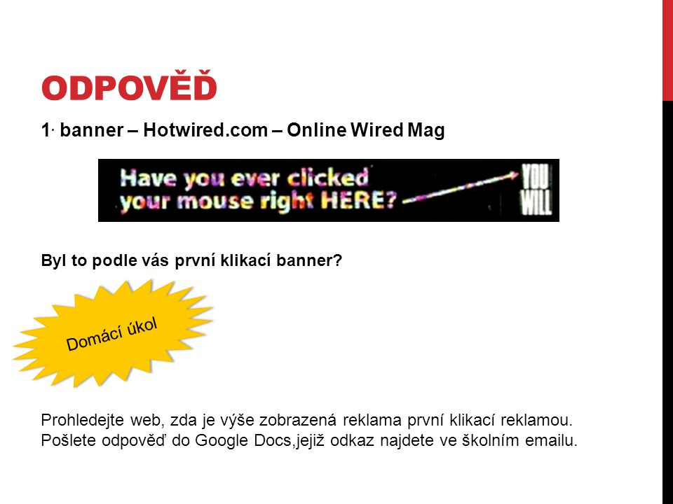 OdpověĎ 1. banner – Hotwired.com – Online Wired Mag
