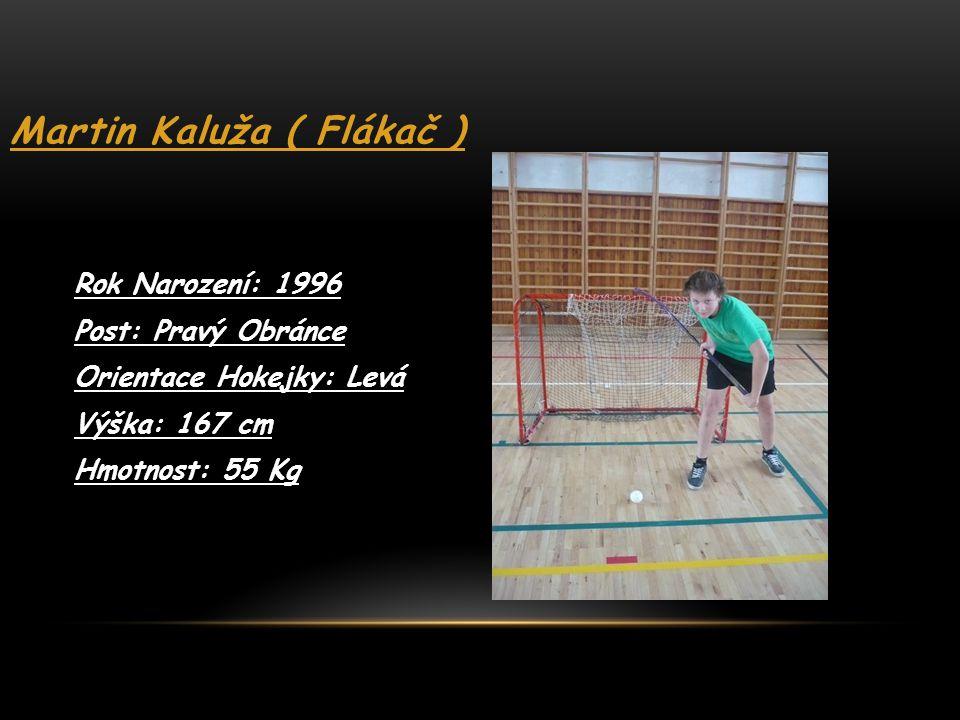 Martin Kaluža ( Flákač )