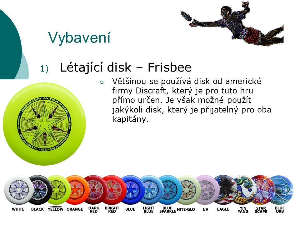 Vybavení Létající disk – Frisbee