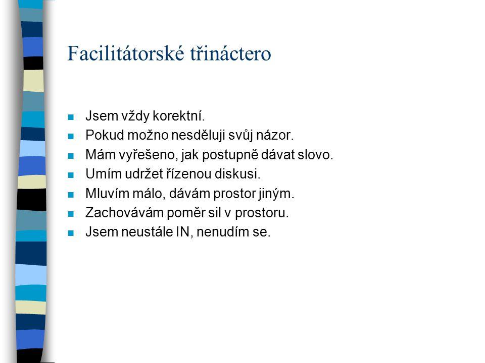 Facilitátorské třináctero