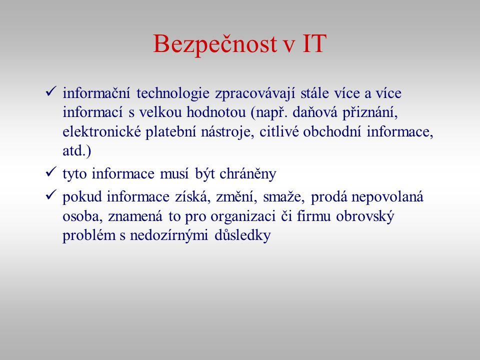 Bezpečnost v IT