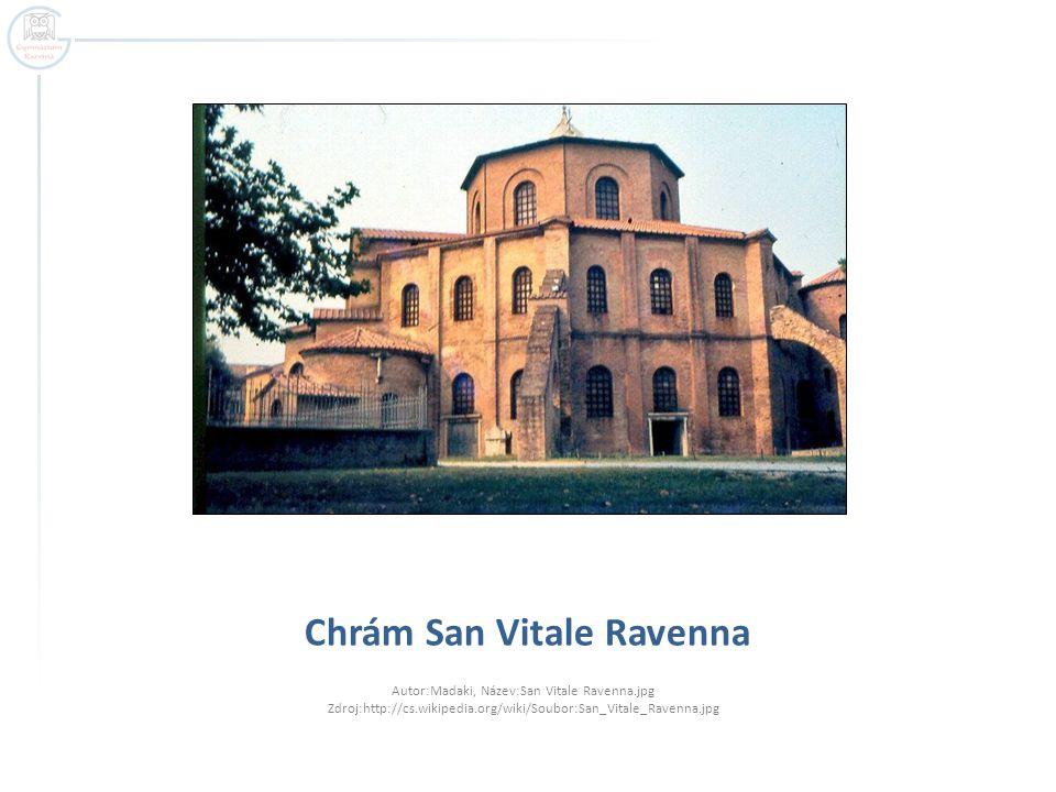 Chrám San Vitale Ravenna