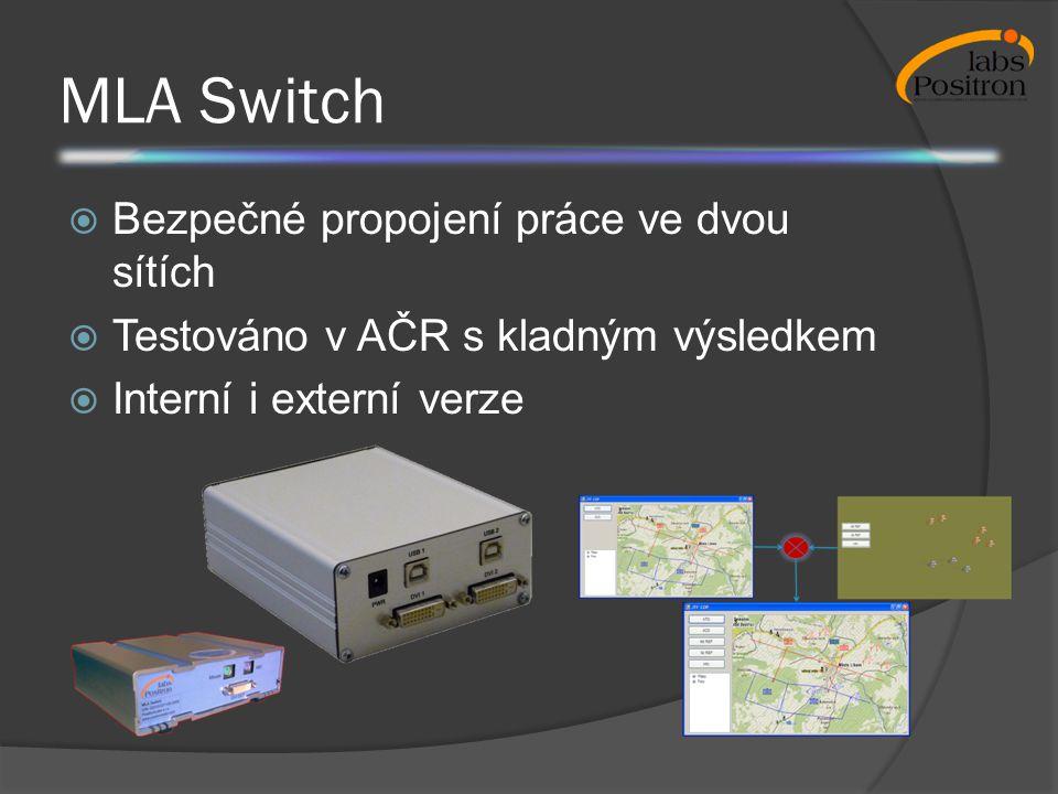 MLA Switch Bezpečné propojení práce ve dvou sítích