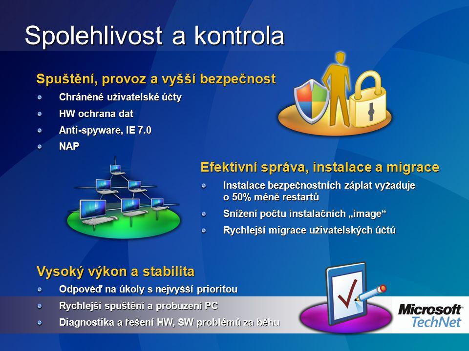 Windows XP – zabezpečení služeb