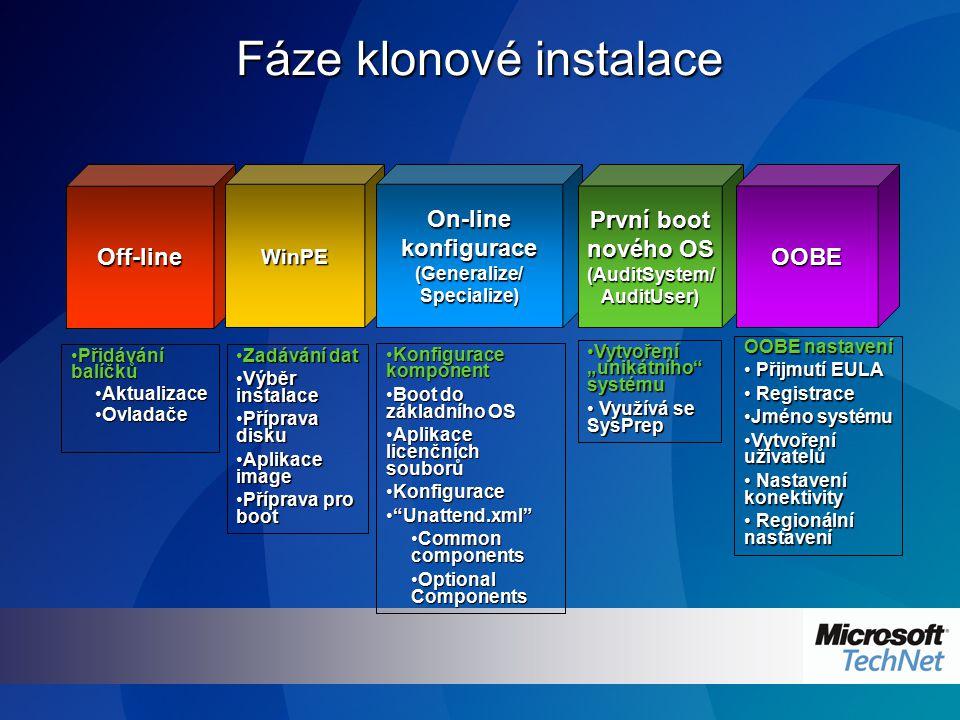 System Image Manager Novinka!