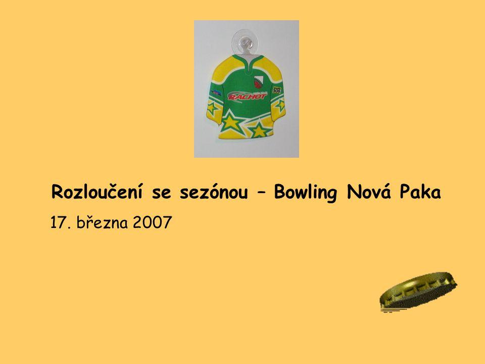 Rozloučení se sezónou – Bowling Nová Paka