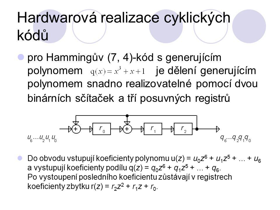 Hardwarová realizace cyklických kódů