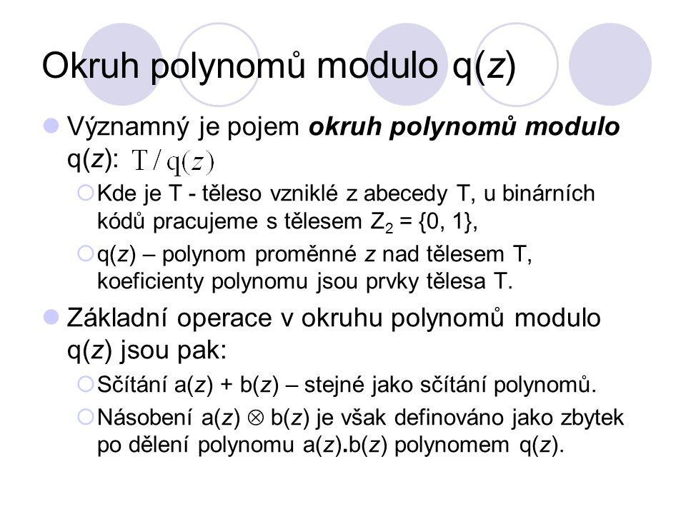 Okruh polynomů modulo q(z)