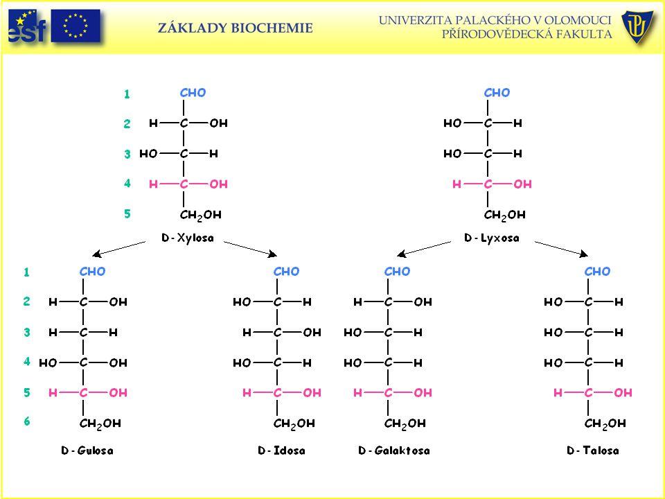 D-Xylosa D-Lyxosa D-Gulosa D-Idosa D-Galaktosa D-Talosa