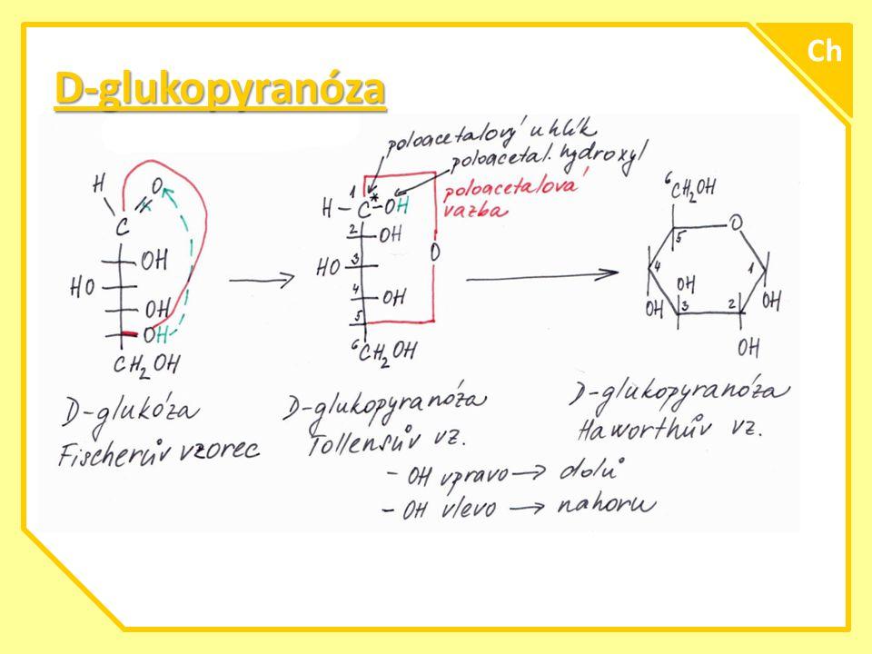 Ch D-glukopyranóza A