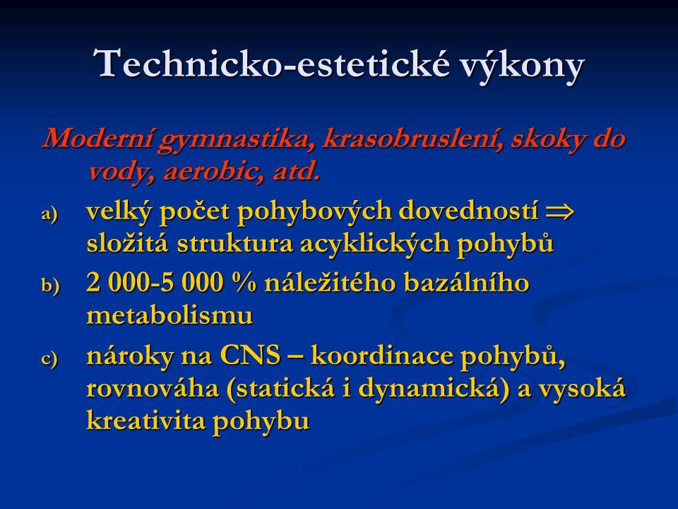 Technicko-estetické výkony