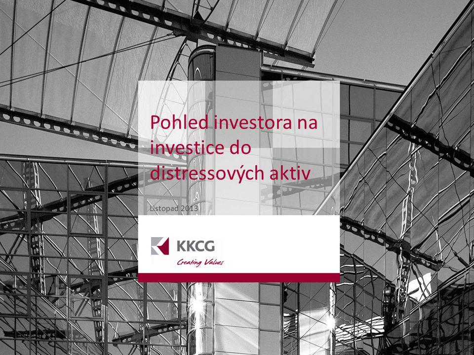 Pohled investora na investice do distressových aktiv