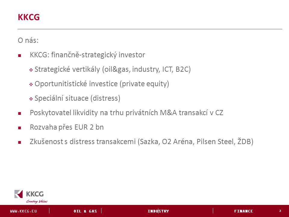 KKCG O nás: KKCG: finančně-strategický investor
