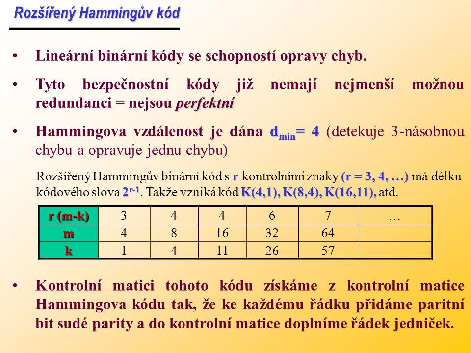 Rozšířený Hammingův kód