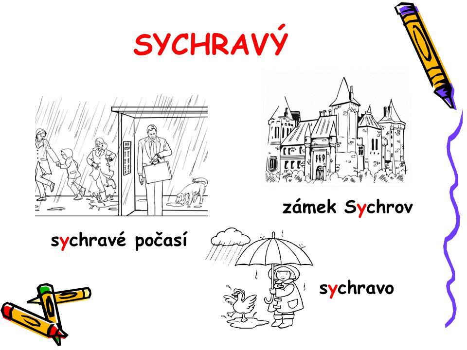SYCHRAVÝ zámek Sychrov sychravé počasí sychravo