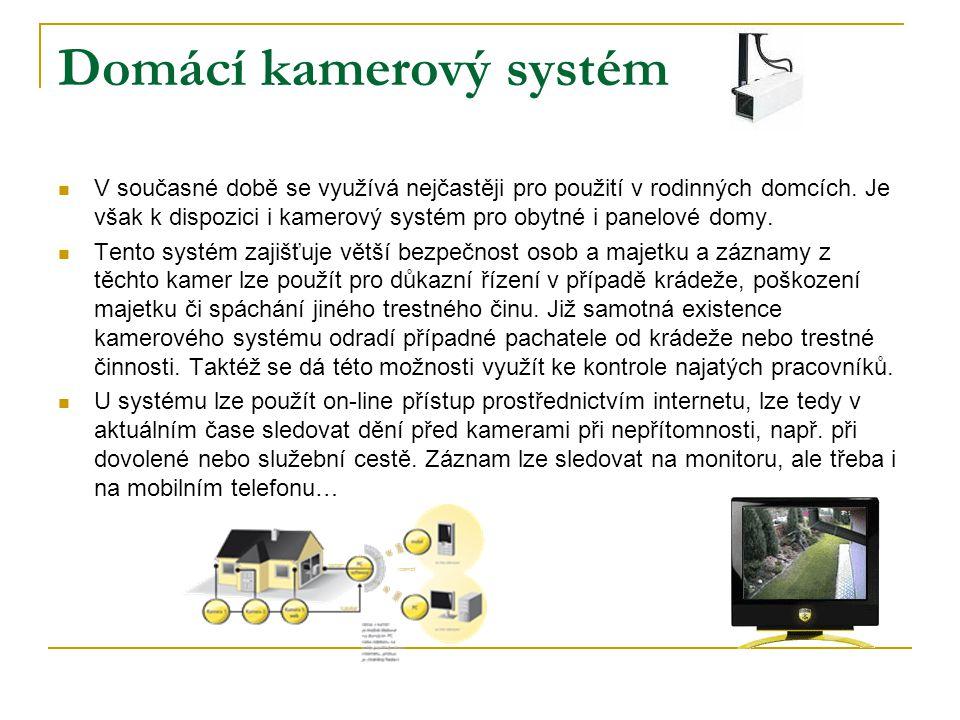 Domácí kamerový systém