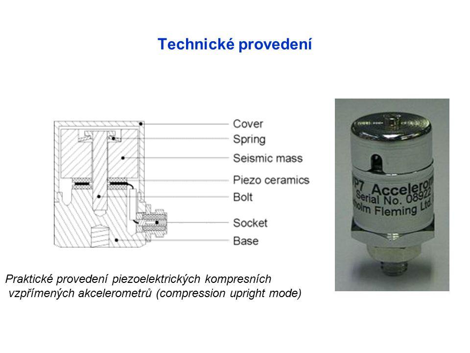 Technické provedení Praktické provedení piezoelektrických kompresních