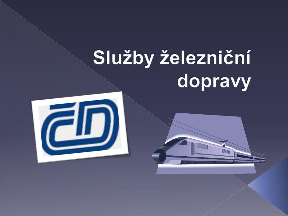 Služby železniční dopravy