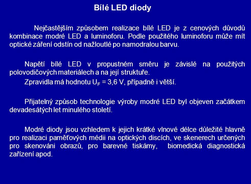 Bílé LED diody
