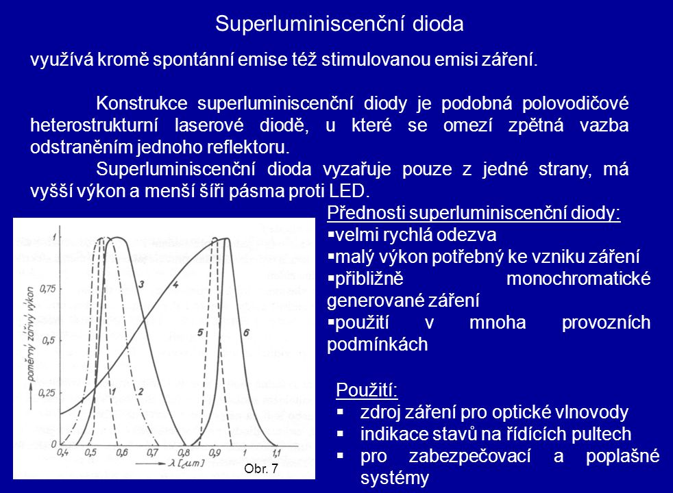 Superluminiscenční dioda