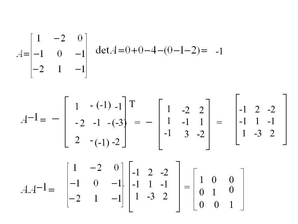 -1 - (-1) T. 1. -1. 1. -1. -2. -1. 3. 2. 1. -2. -1 2 -2. -1 1 -1. 1 -3 2.