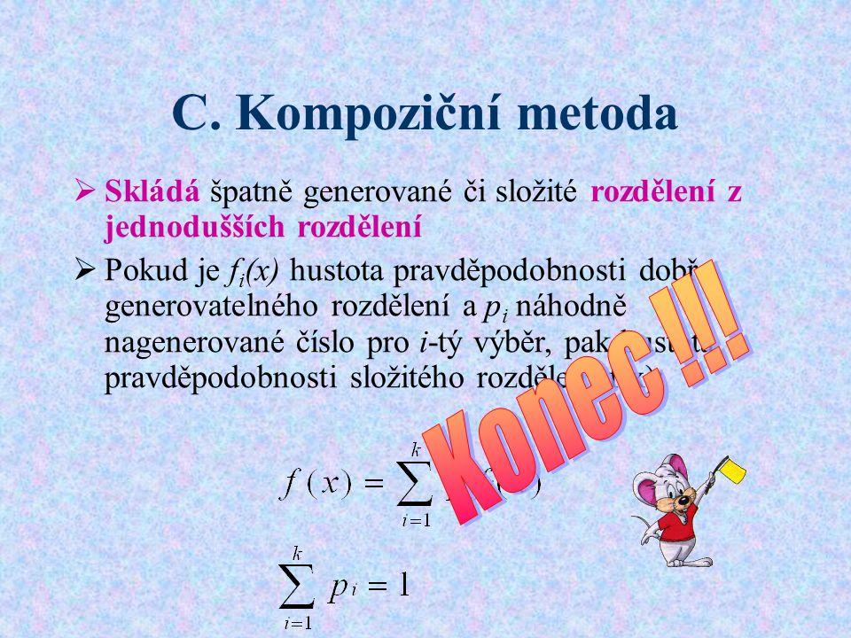 C. Kompoziční metoda Konec !!!