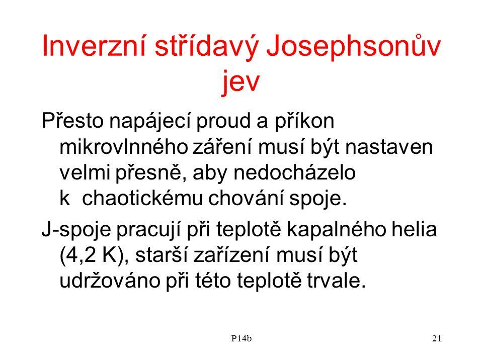 Inverzní střídavý Josephsonův jev
