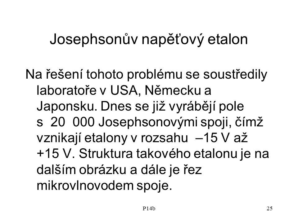 Josephsonův napěťový etalon