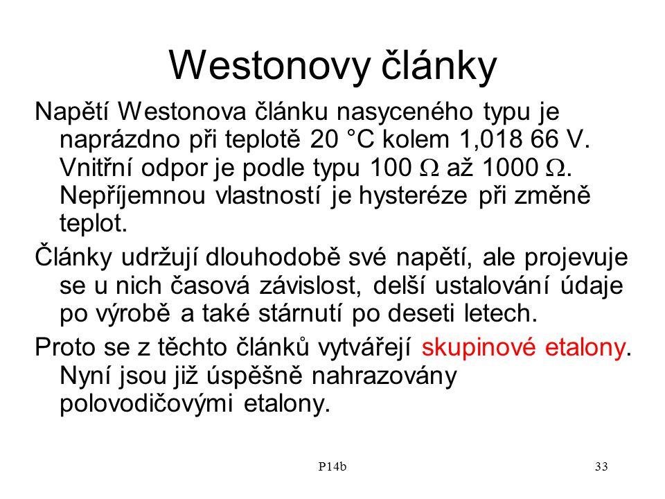 Westonovy články