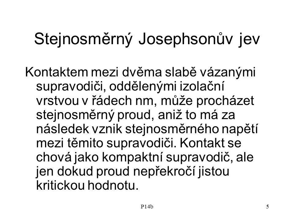 Stejnosměrný Josephsonův jev