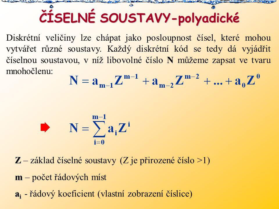 ČÍSELNÉ SOUSTAVY-polyadické