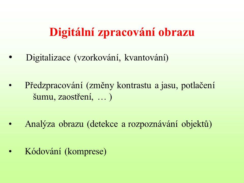 Digitální zpracování obrazu