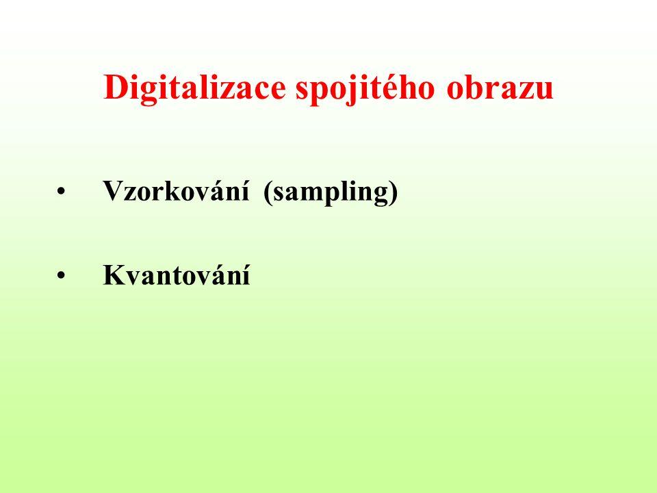 Digitalizace spojitého obrazu
