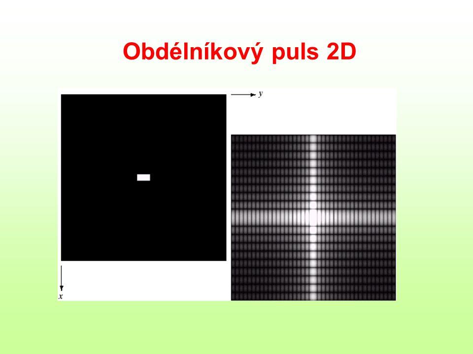 Obdélníkový puls 2D