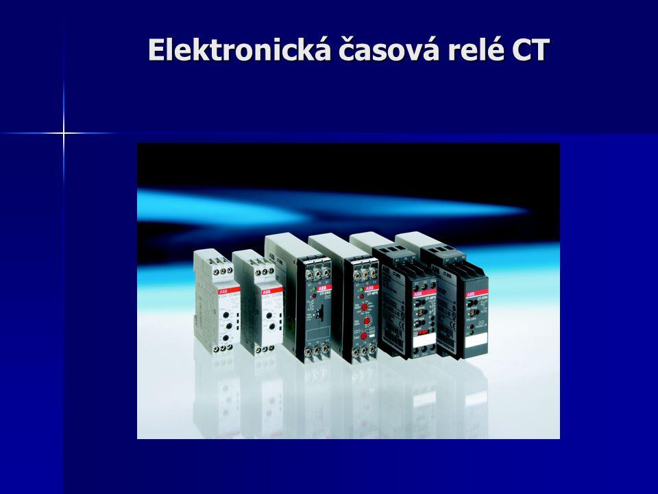 Elektronická časová relé CT