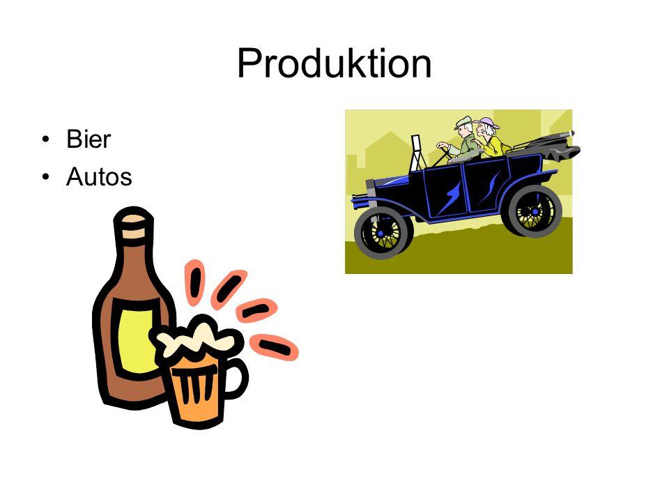 Produktion Bier Autos