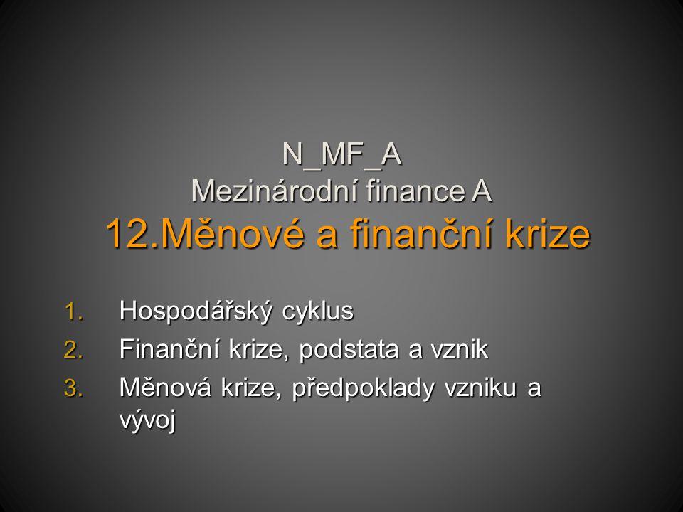 N_MF_A Mezinárodní finance A 12.Měnové a finanční krize