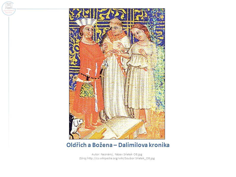 Oldřich a Božena – Dalimilova kronika