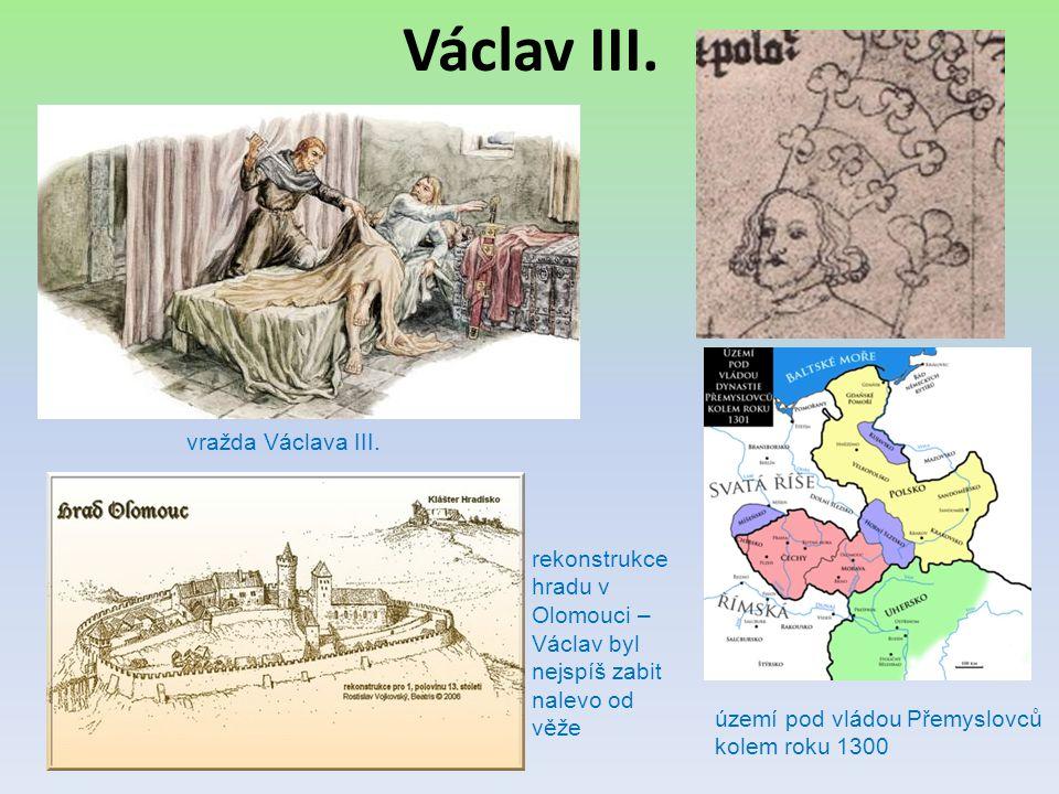 Václav III. vražda Václava III.
