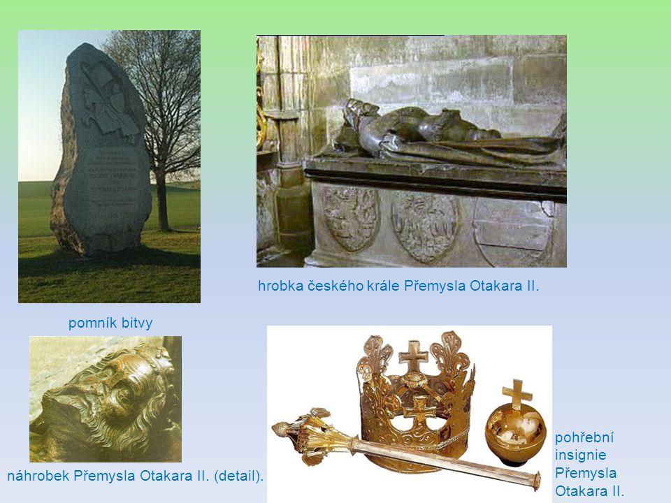 hrobka českého krále Přemysla Otakara II.