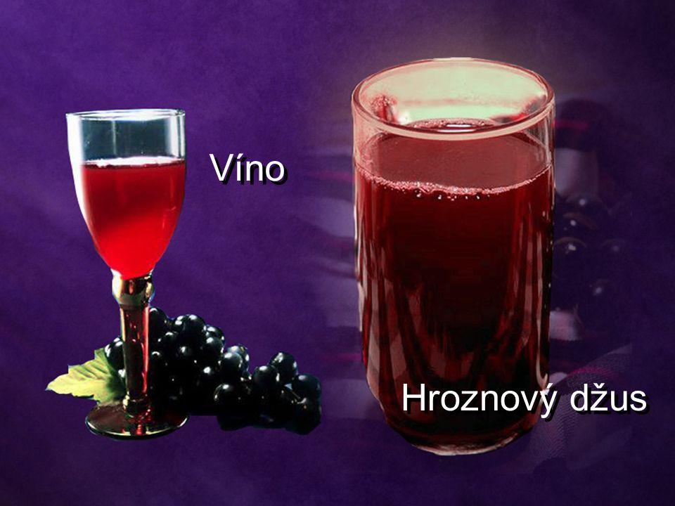 Víno Hroznový džus