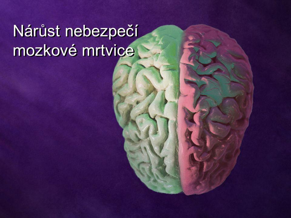 Nárůst nebezpečí mozkové mrtvice