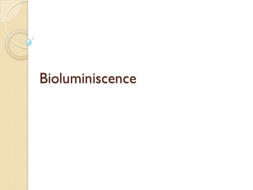 Bioluminiscence