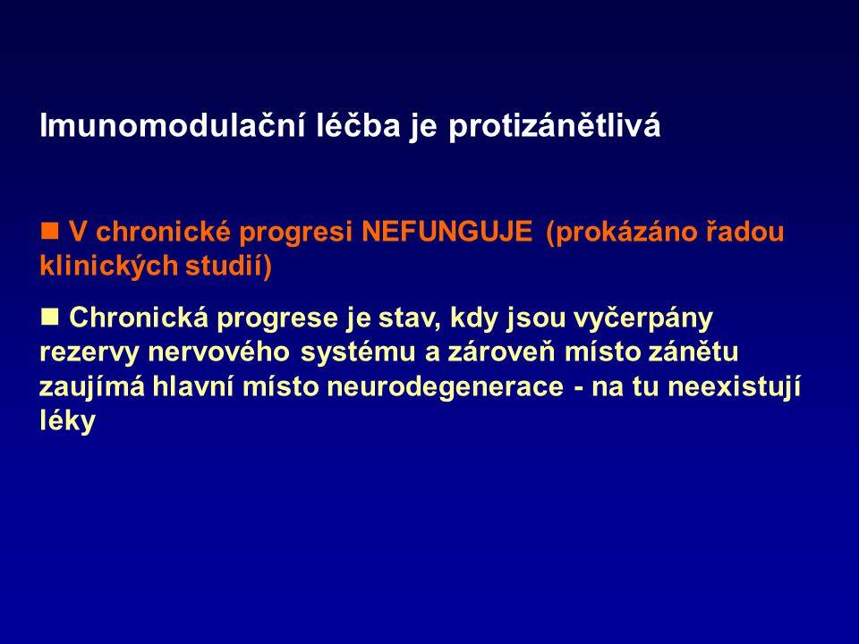 Imunomodulační léčba je protizánětlivá