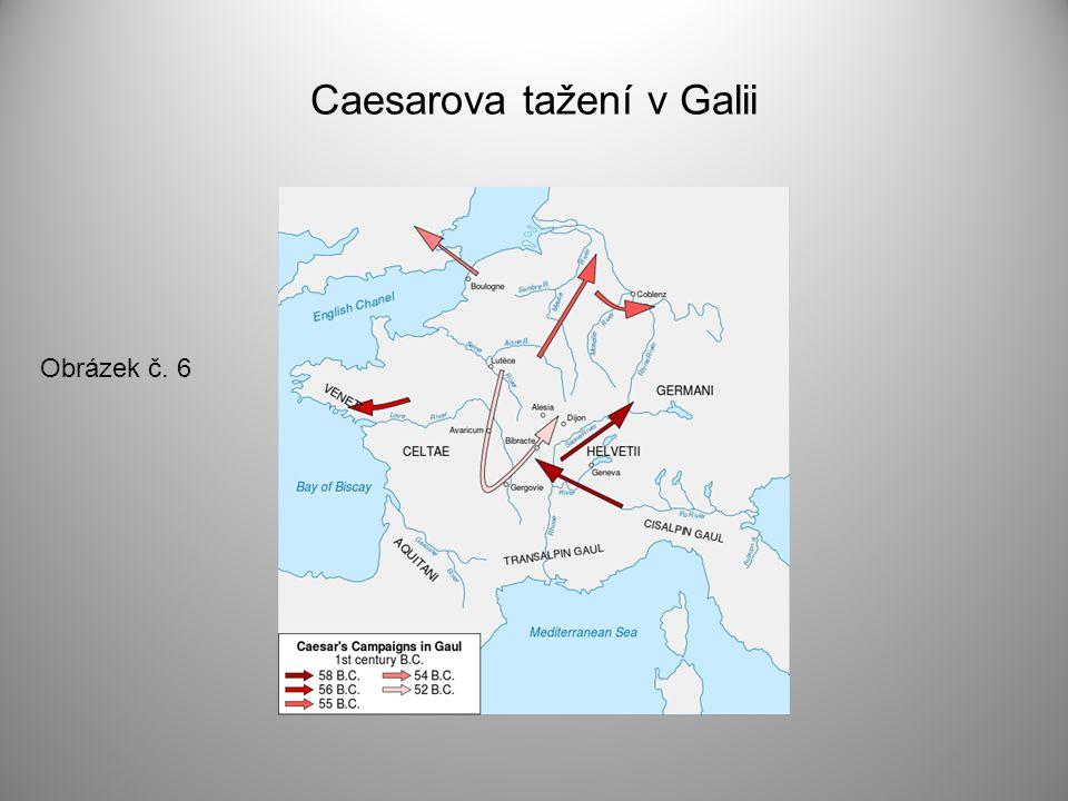 Caesarova tažení v Galii