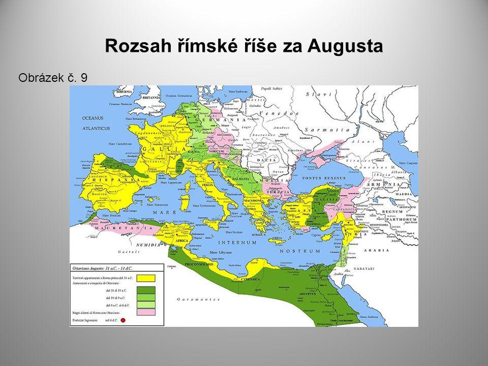 Rozsah římské říše za Augusta