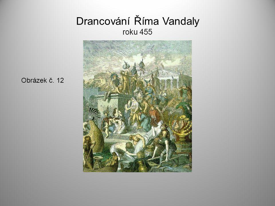 Drancování Říma Vandaly roku 455
